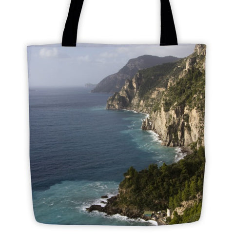 Amalfi Coast Tote bag - Pzella Accessories nickel free jewellery