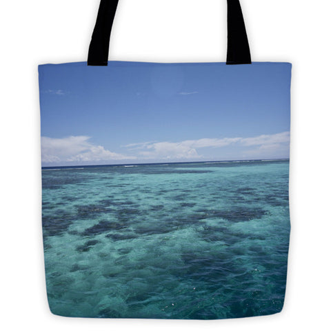 Fijian Ocean Tote bag - Pzella Accessories nickel free jewellery