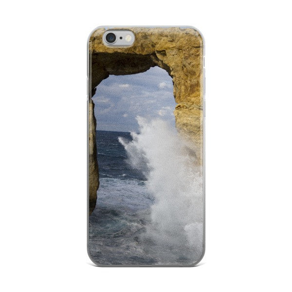 Maltese Azure Window iPhone case - Pzella Accessories nickel free jewellery