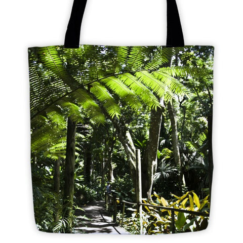 Fijian Rainforest Tote bag - Pzella Accessories nickel free jewellery