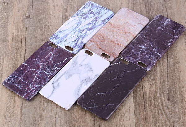 Marble iPhone Case 6/6 S/7 - Pzella Accessories nickel free jewellery