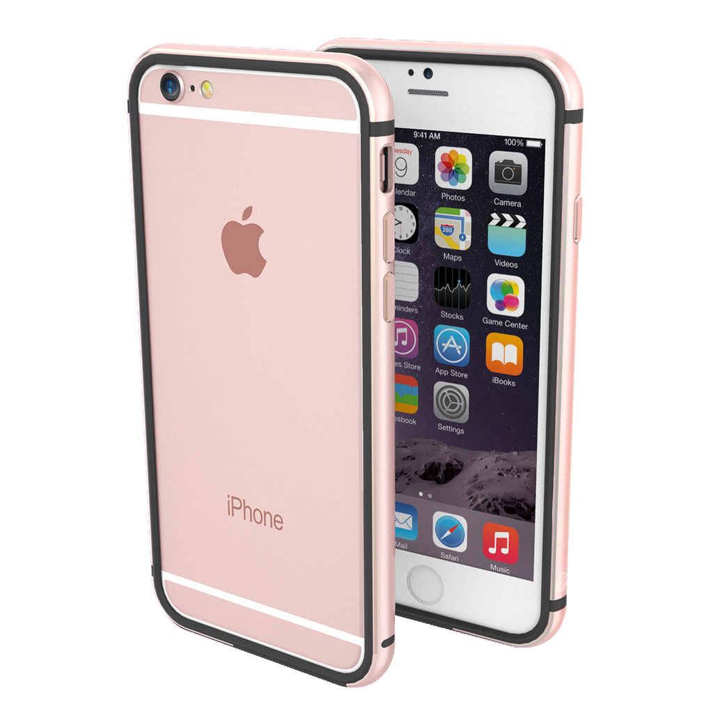 iphone 6 case black and rose gold