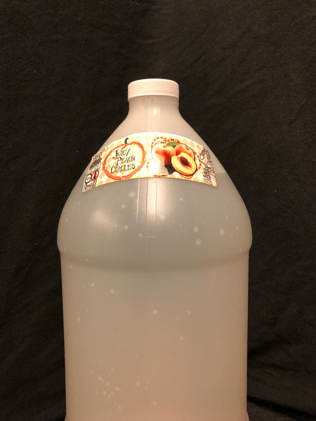 Juicy Peach Circles Gallon