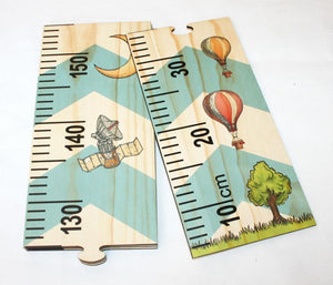 L&L Growth Chart Ruler - Reaching Space