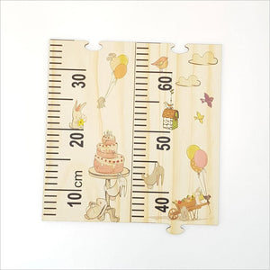 L&L Growth Chart Ruler - Woodland Party