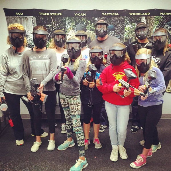 I'm Only 6… Can I Play Paintball?