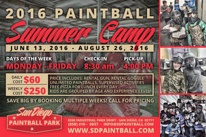 Paintball Summer Camp: A Physically Healthy Activity to Keep Kids Mentally Engaged