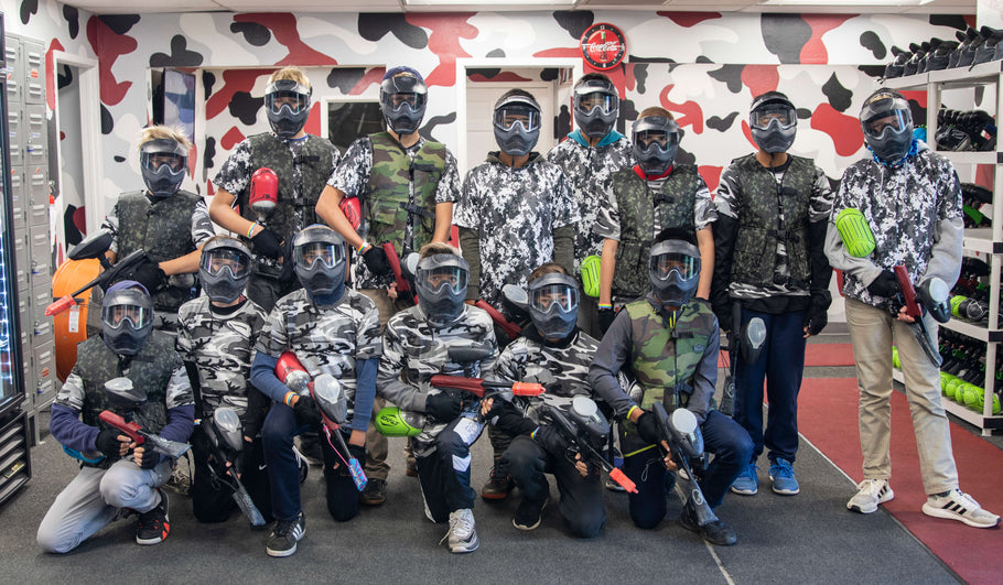 The Best Birthday Party In San Diego For Kids🎂 — San Diego Paintball Park