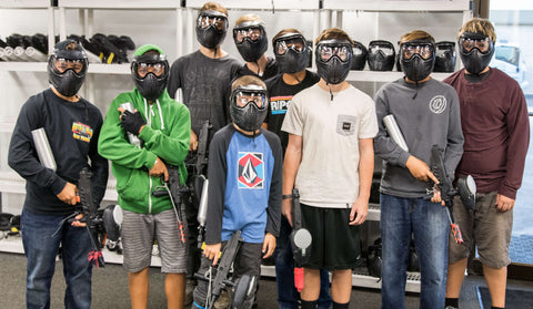 paintball games