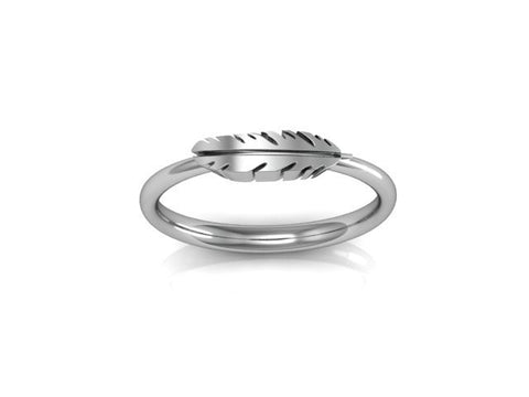 Feather Ring, Arctic Fox