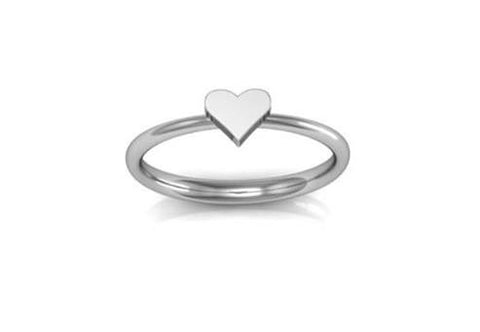 Heart Ring, Arctic Fox