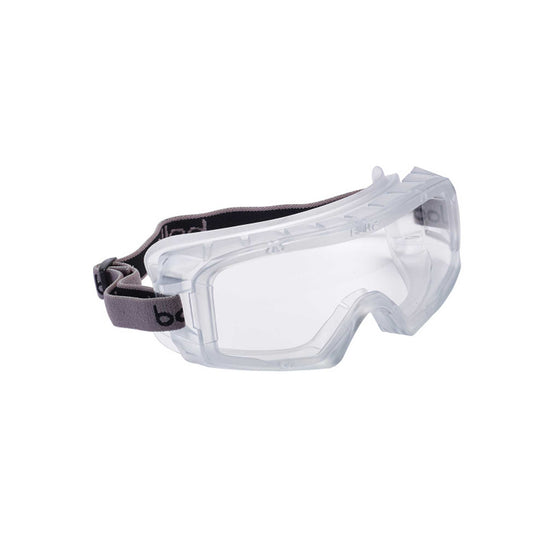 Bolle Safety Goggles - Coverall 3 Platinum Clear Vents