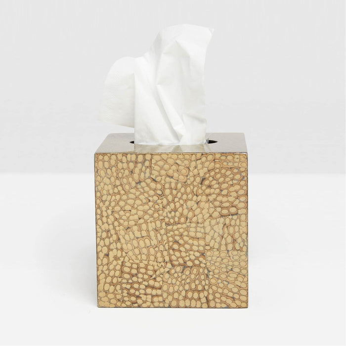 Pigeon and Poodle Callas Tissue Box, Square