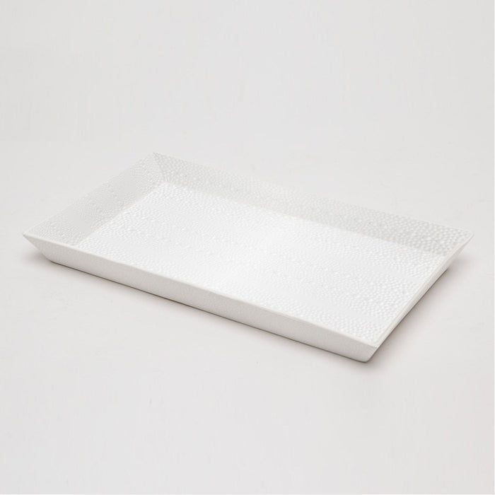 Pigeon and Poodle Hilo Rectangular Tray, Tapered