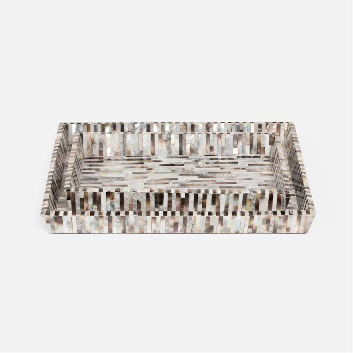 Pigeon and Poodle Luzia Rectangular Tray, Tapered