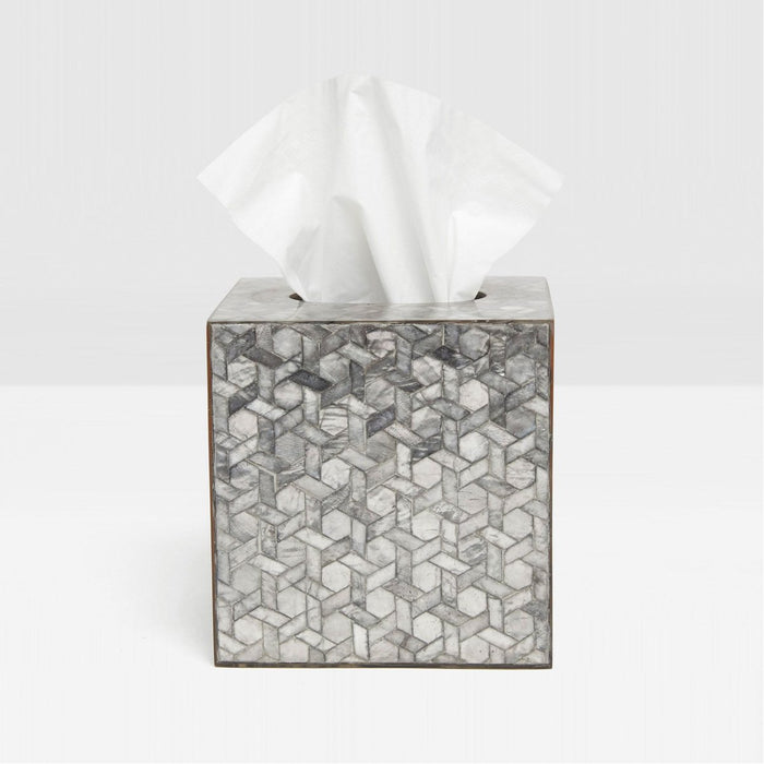 Pigeon and Poodle Melfi Tissue Box, Square