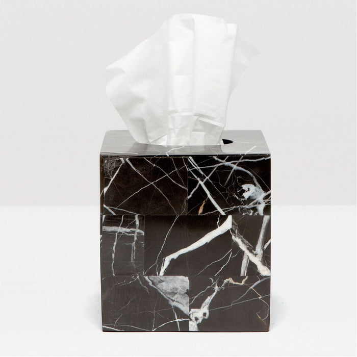 Pigeon and Poodle Rhodes Nero Tissue Box, Square