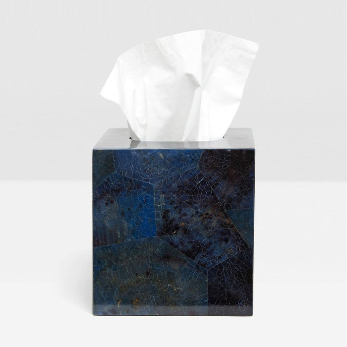 Pigeon and Poodle Santorini Tissue Box, Square