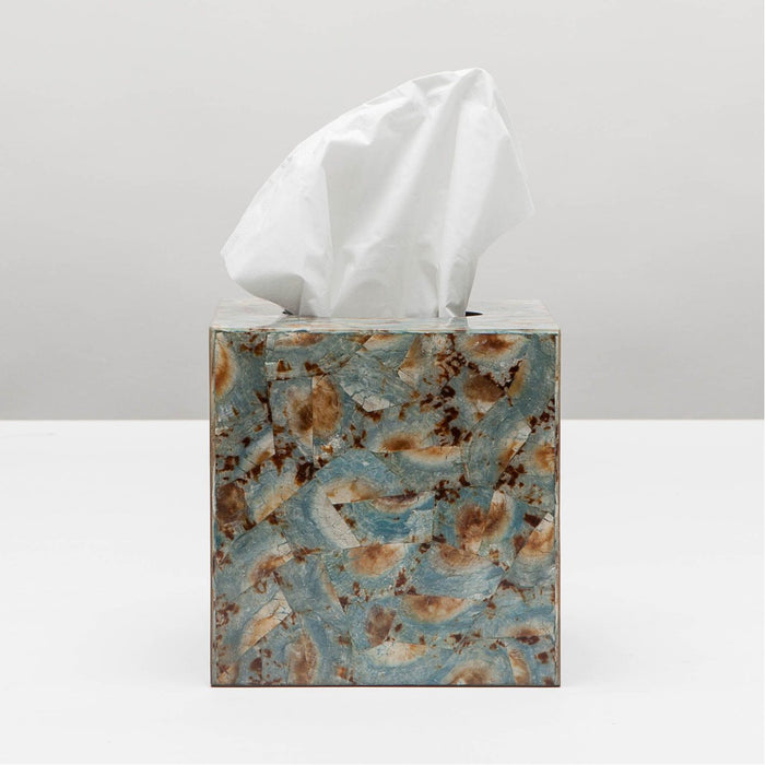 Pigeon and Poodle Sitges Tissue Box, Square