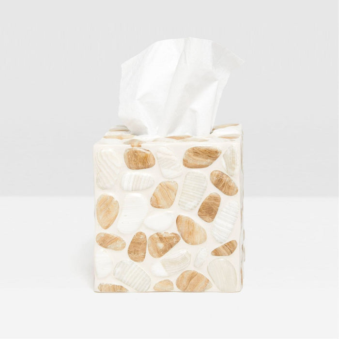Pigeon and Poodle Vieste Tissue Box, Square