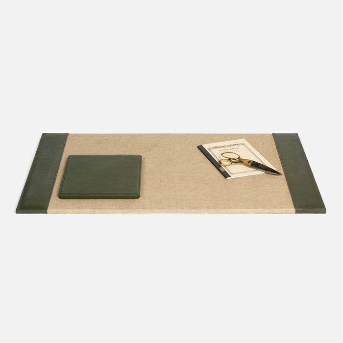 Pigeon and Poodle Asby Desk Blotter, Rectangular Mouse Pad