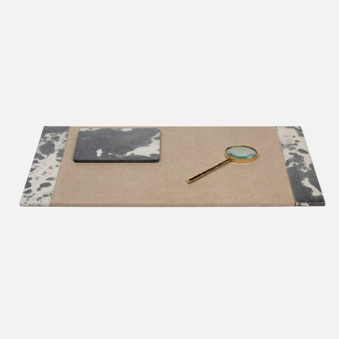 Pigeon and Poodle Kiruna Desk Blotter, Square Mouse Pad