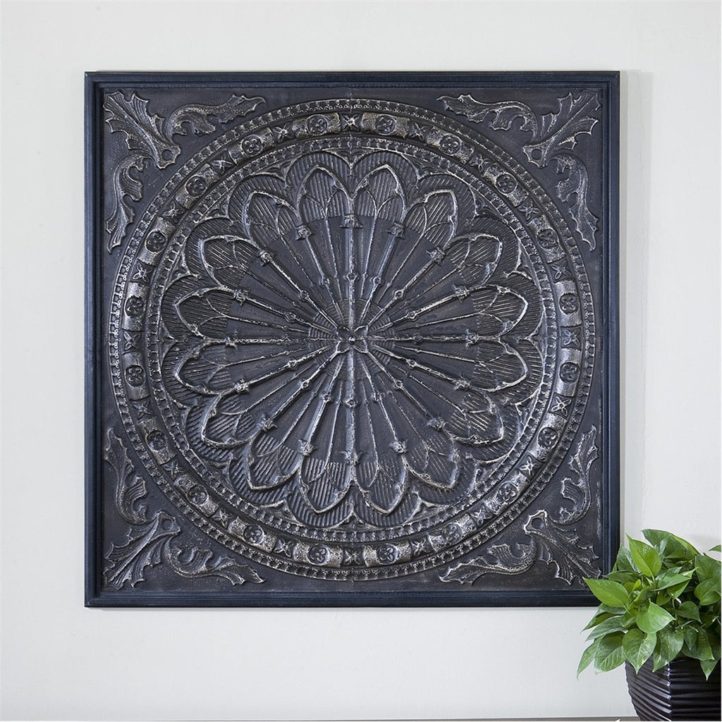 Uttermost Ottavio Embossed Iron Wall Decor