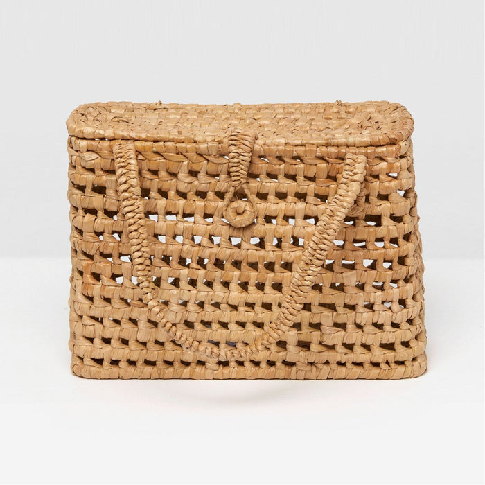Pigeon and Poodle Kosta Basket with Handle