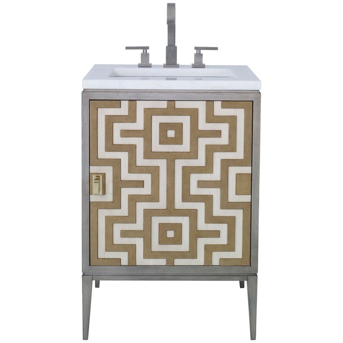 Ambella Home Labyrinth Petite Sink Chest