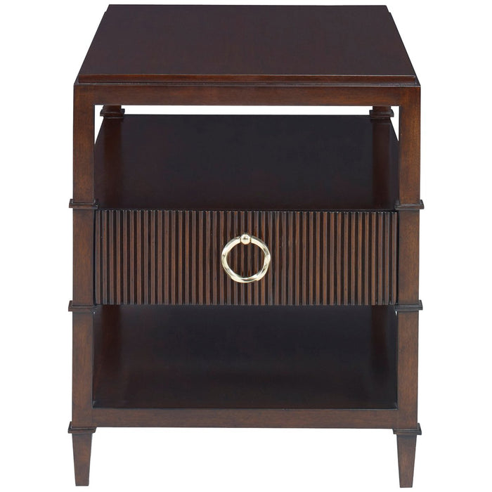 Ambella Home Reeded End Table