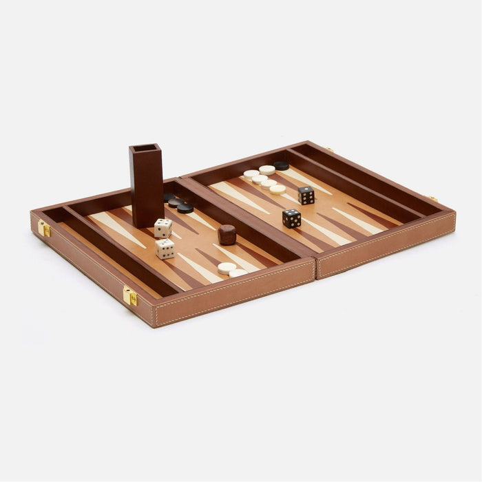 Pigeon and Poodle Grantham Backgammon Game Set