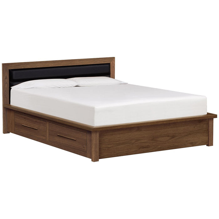 "Copeland Furniture Moduluxe Conventional 35"" Storage Base Bed with Fabric"