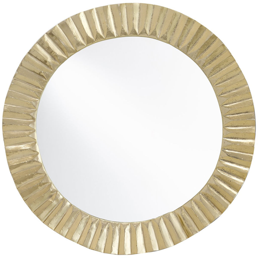Currey and Company Carla Gold Mirror