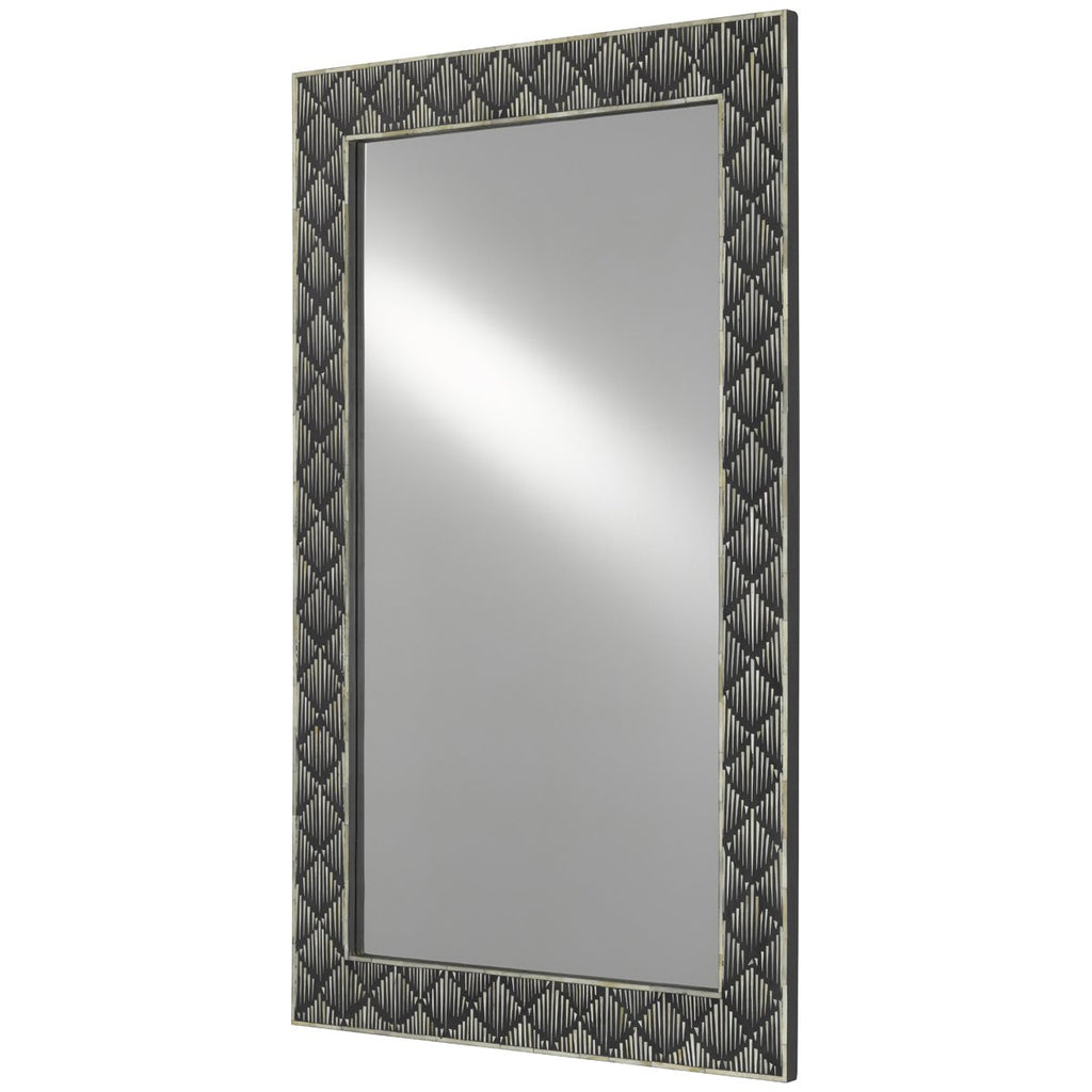 Currey and Company Davos Large Mirror