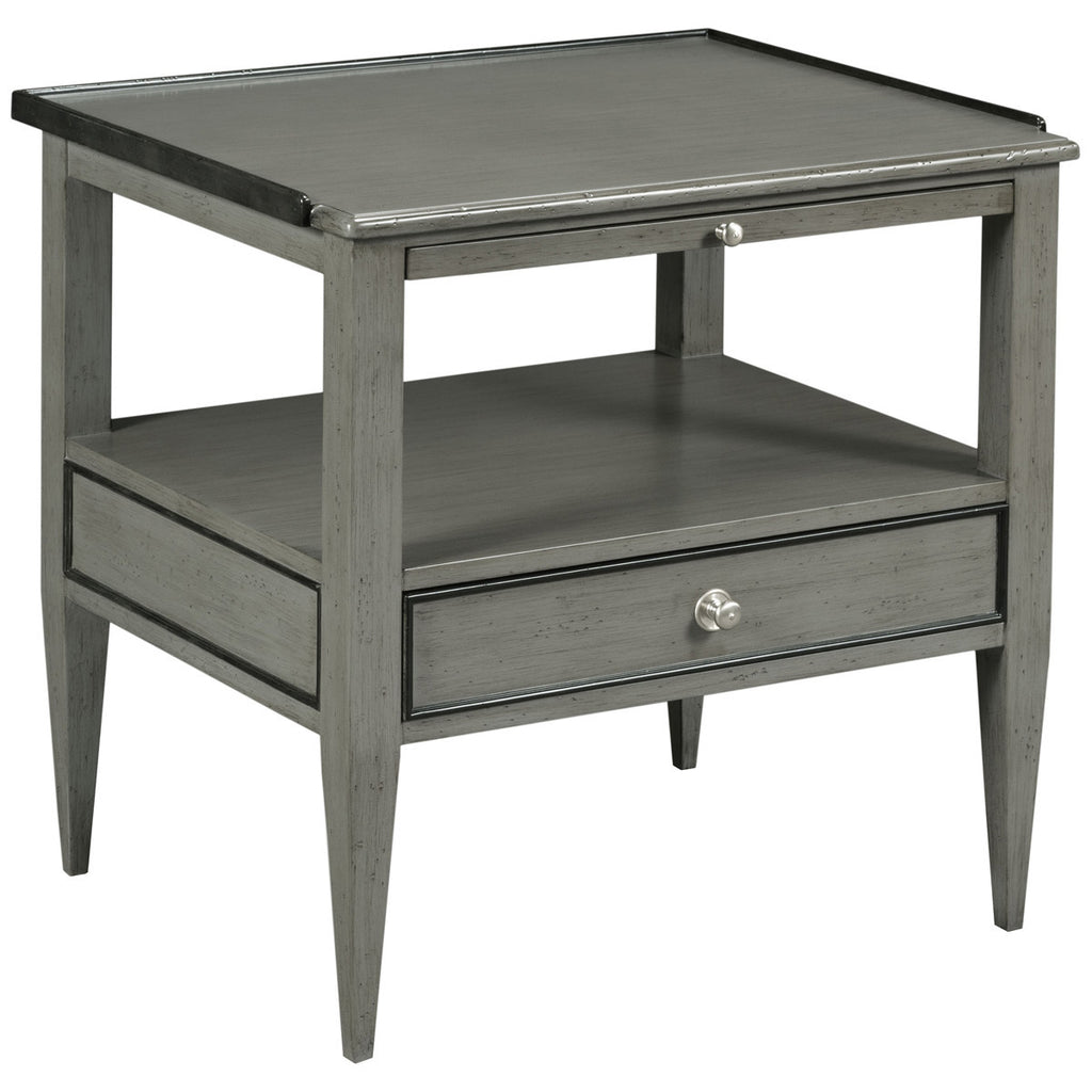 Woodbridge Furniture Rectangular cherry Side Table