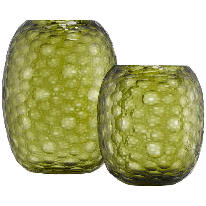 Currey and Company Wintergreen Vase Set
