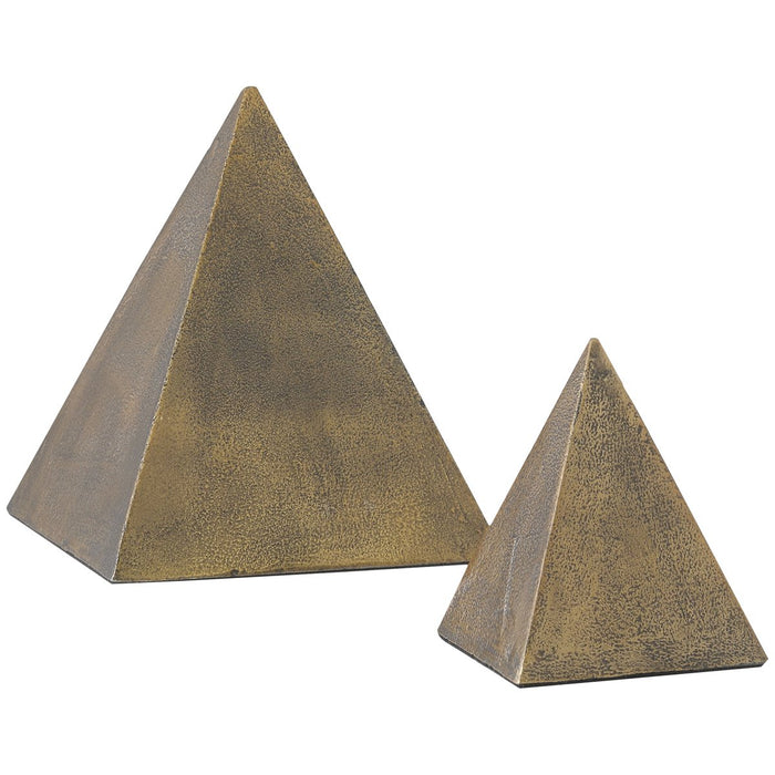 Currey and Company Mandir Pyramid, Set of 2