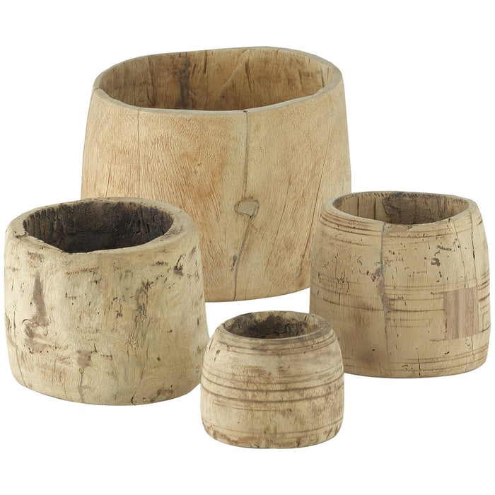 Currey and Company Gujarat Pot, Set of 4