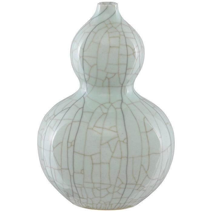 Currey and Company Maiping Double Gourd Vase