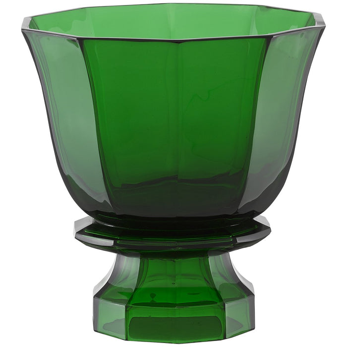 Currey and Company Columbia Emerald Footed Vase