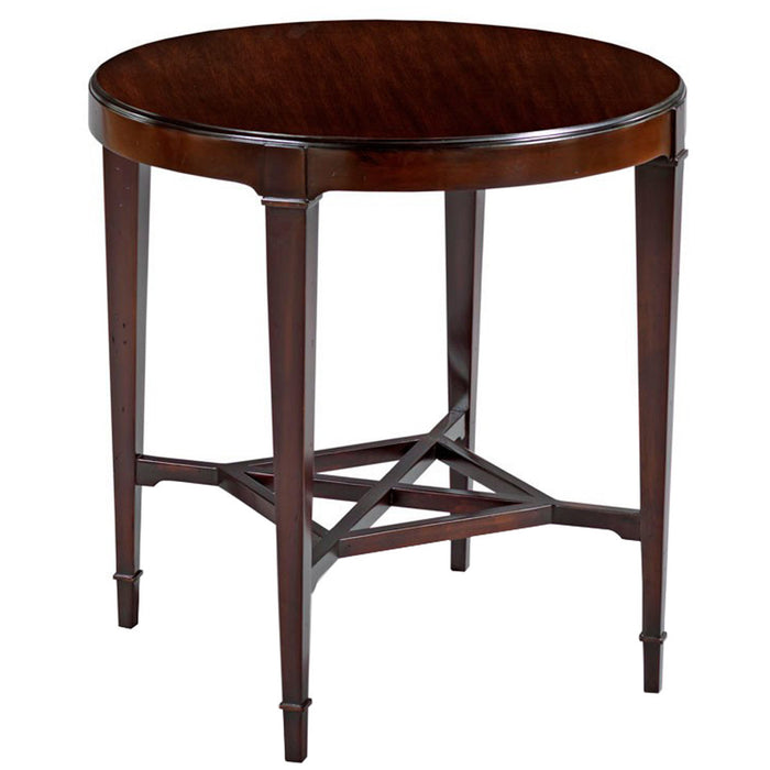 Woodbridge Furniture Addison Round Lamp Table