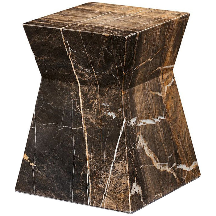 Interlude Home Anita Marble Side Table