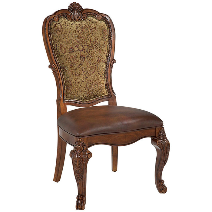 A.R.T. Furniture Old World Upholstered Back Side Chair, Set of 2