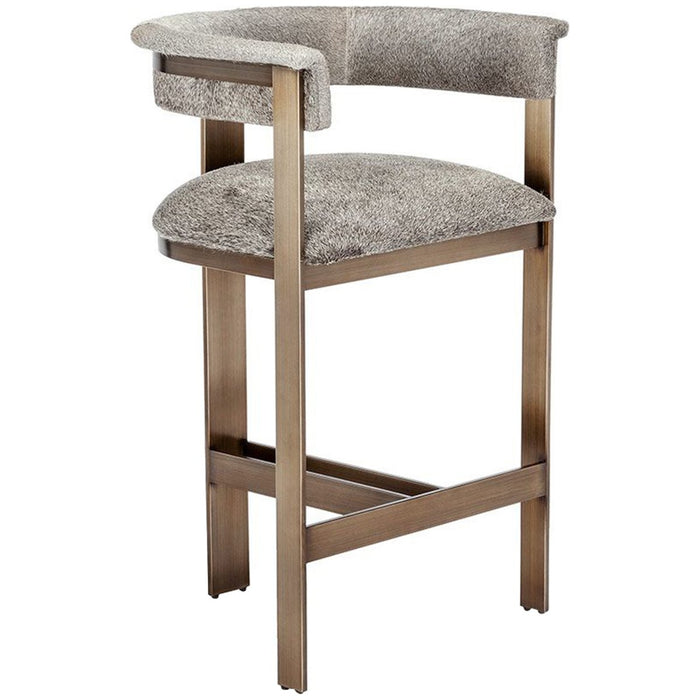 Interlude Home Darcy Hide Counter Stool