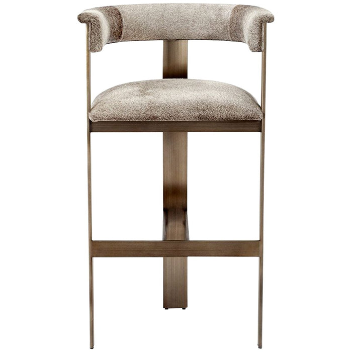 Interlude Home Darcy Hide Bar Stool