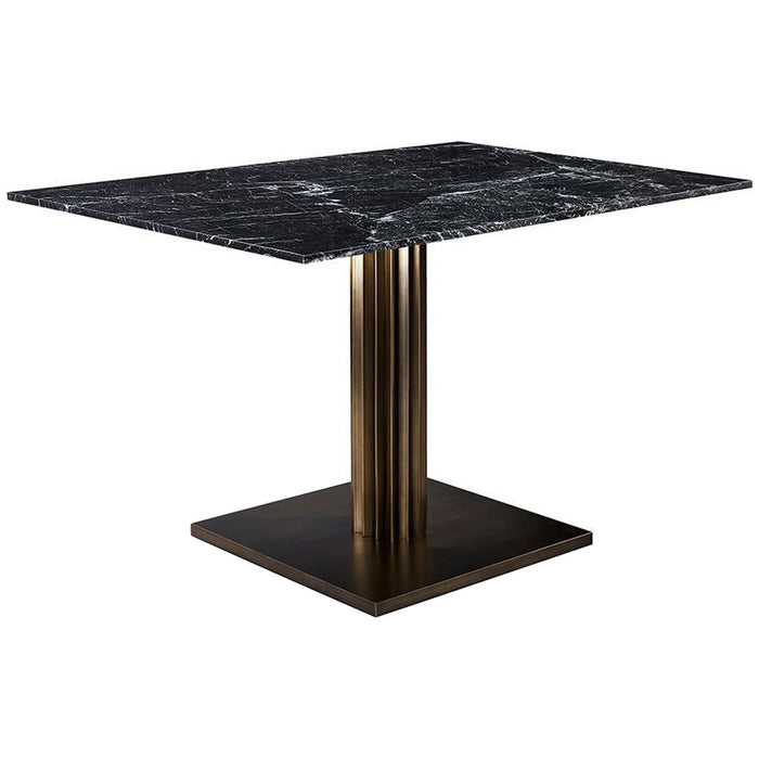 Interlude Home Annick Marble Dining Table
