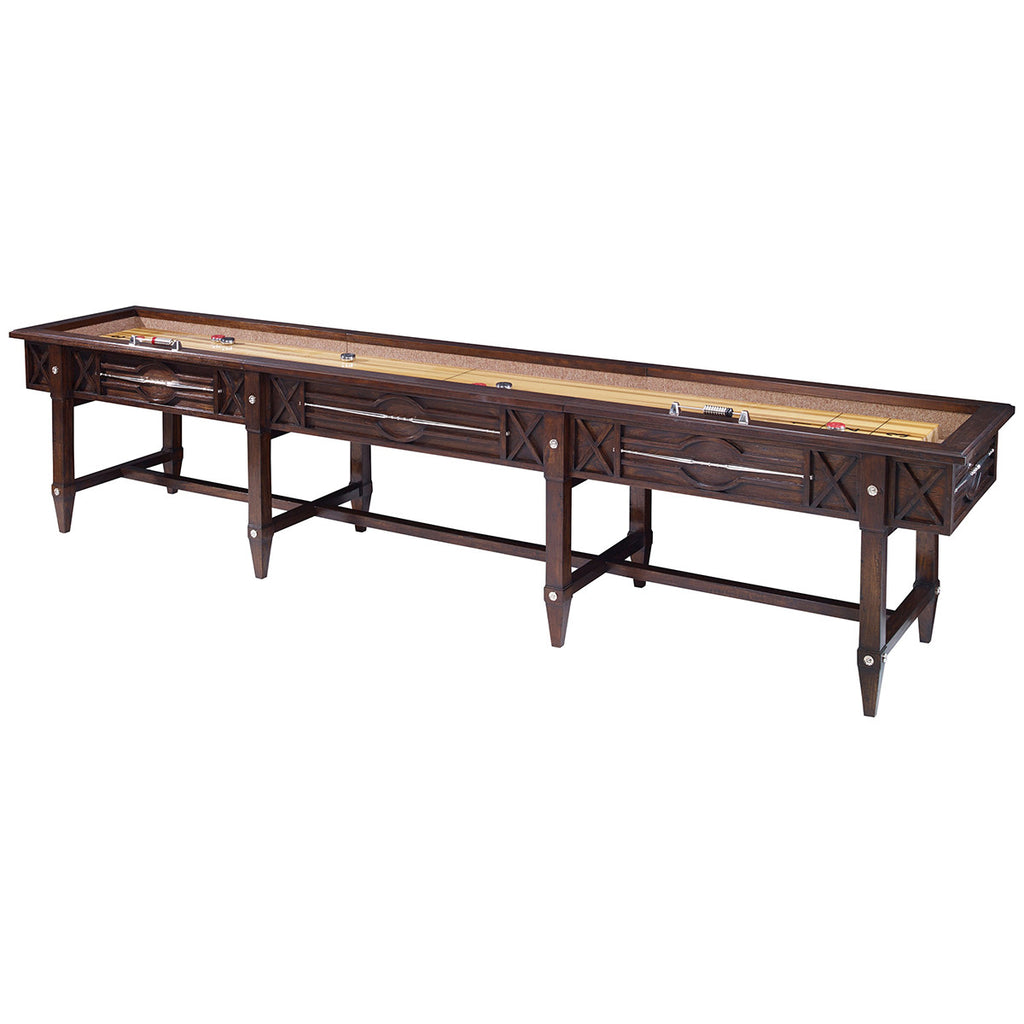 Genial Previous. Ambella Home Spindle Shuffleboard Table   Walnut. Ambella Home  Spindle Shuffleboard Table ...