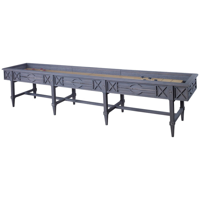 Ambella Home Spindle Shuffleboard Table - Grey