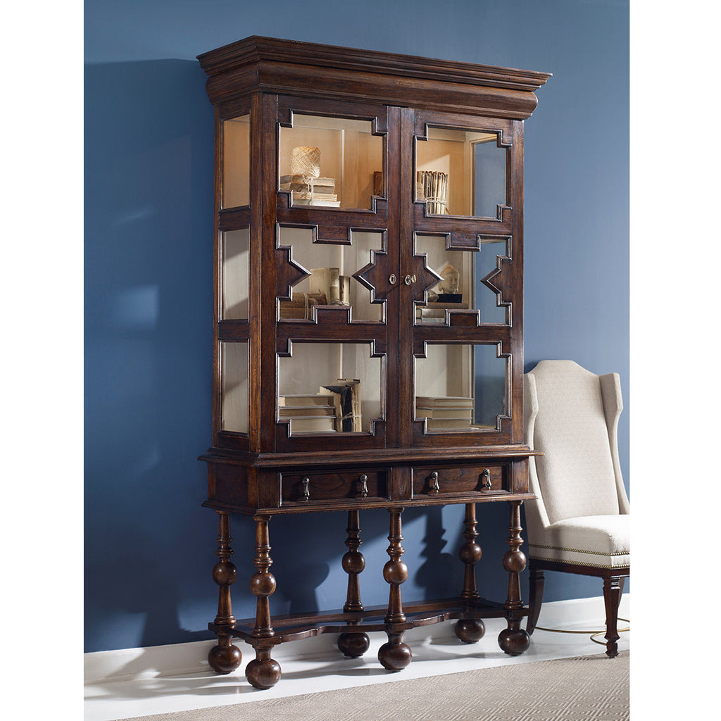 Ambella Home William And Mary Tall Cabinet