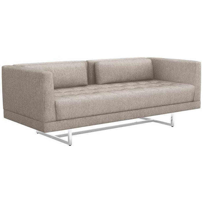 Interlude Home Luca Luxe Chenille Loveseat